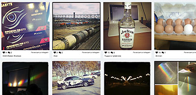instagram виджет без backend'а, только javascript