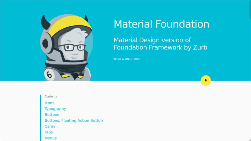 Material Foundation framework