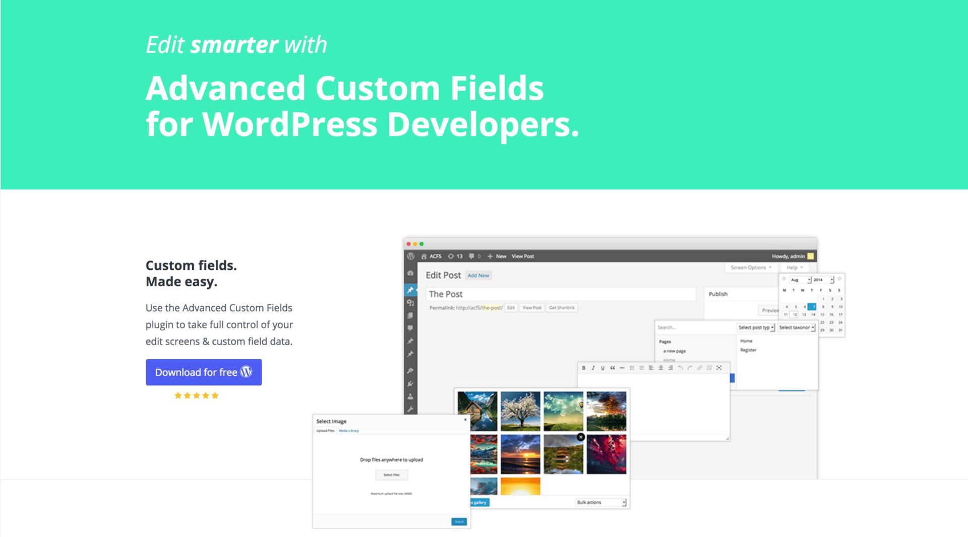 Как добавить удобные кастомные поля к записям в WordPress